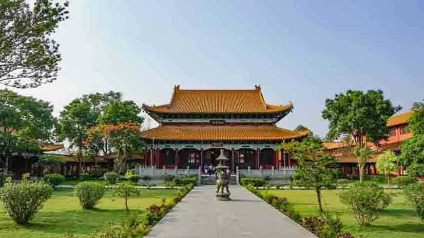 Chinese Temple Lumbini